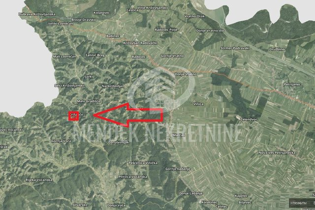 Land, 44851 m2, For Sale, Natkrižovljan