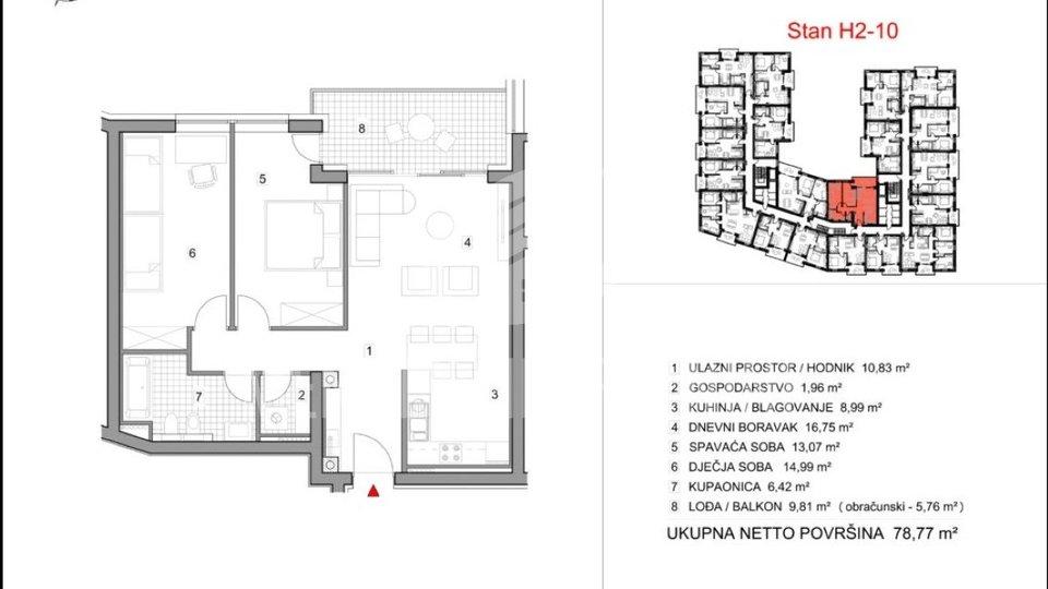 Stanovanje, 78 m2, Prodaja, Varaždin - Vilka Novaka