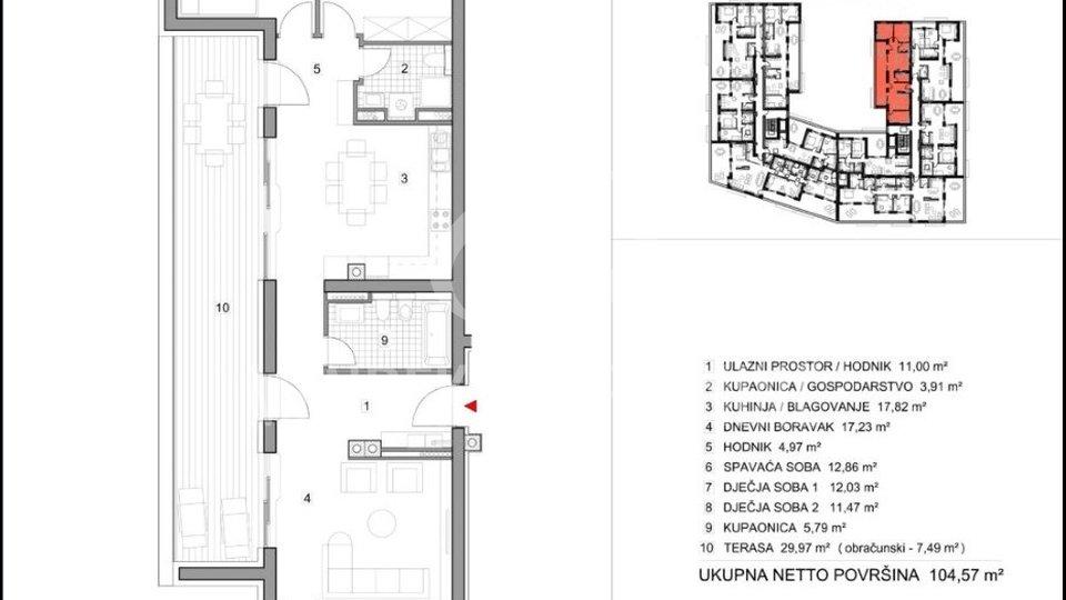 Stanovanje, 104 m2, Prodaja, Varaždin - Vilka Novaka
