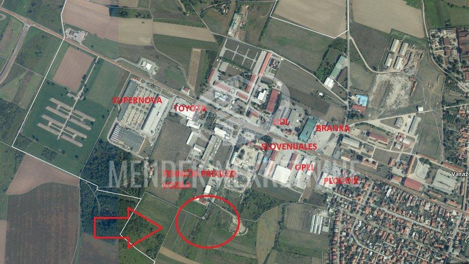 Land, 7715 m2, For Sale, Varaždin