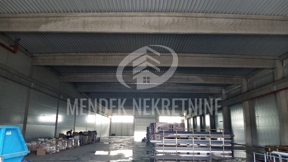 Commercial Property, 2000 m2, For Rent, Varaždin - Posrednjak