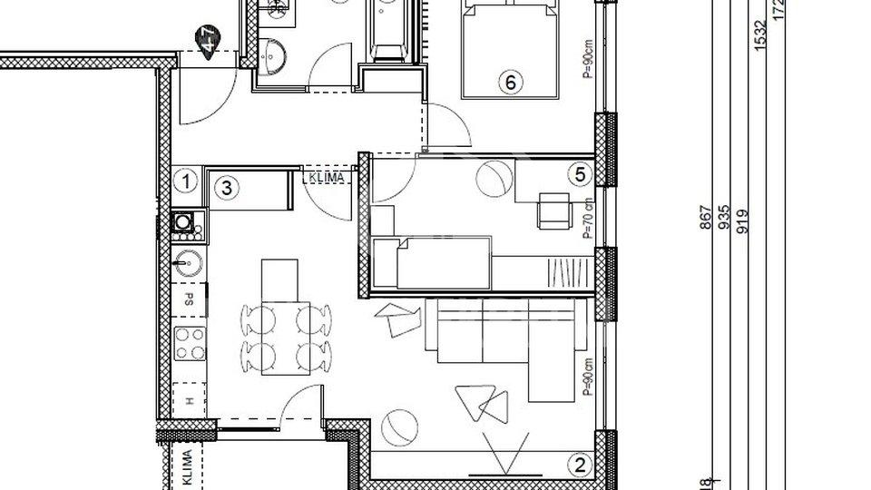 Apartment, 54 m2, For Sale, Varaždin - Grabanica