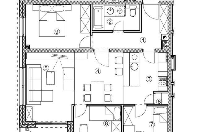 Apartment, 73 m2, For Sale, Varaždin - Hallers