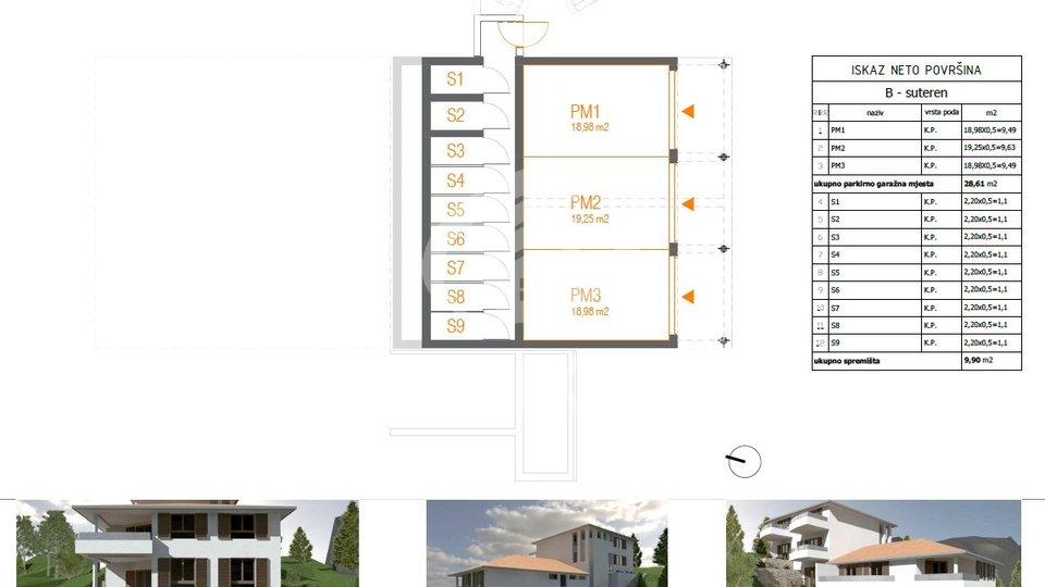 Appartamento, 43 m2, Vendita, Primošten